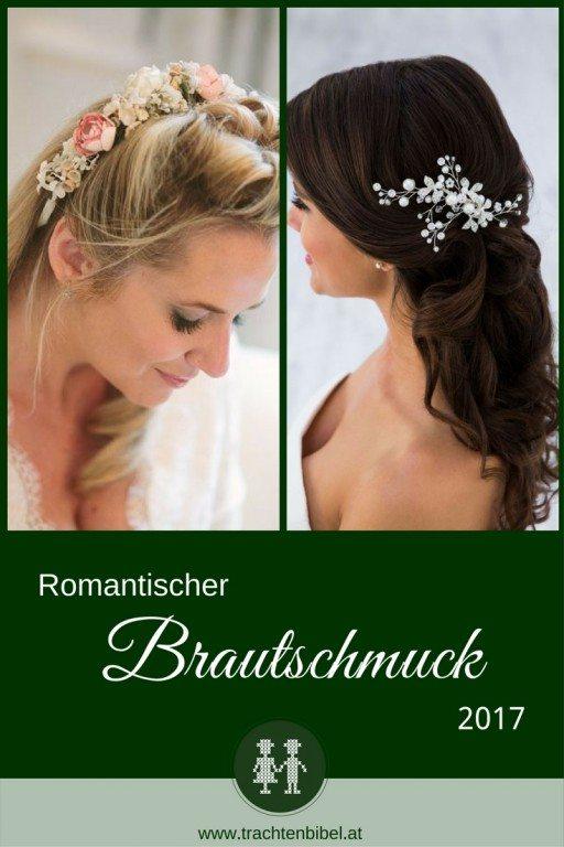 Brautschmuck für Haar - elegant und mädchenhaft für die Trachtenhochzeit