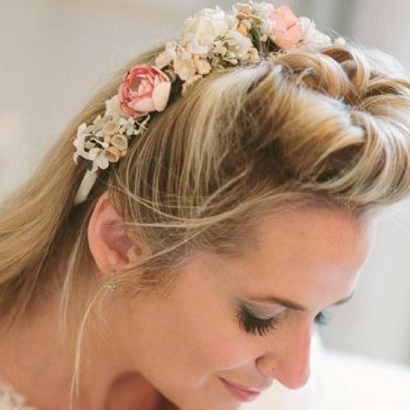 Blüten-Haarreif von miss lilly's hats