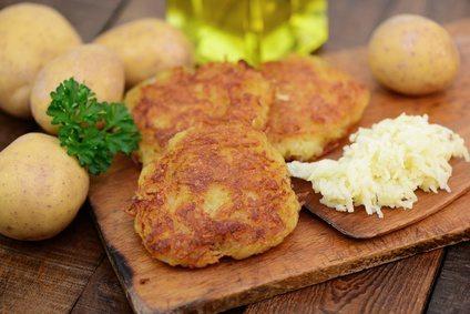 Reiberdatschi - Erdäpfelpuffer - Kartoffelpuffer
