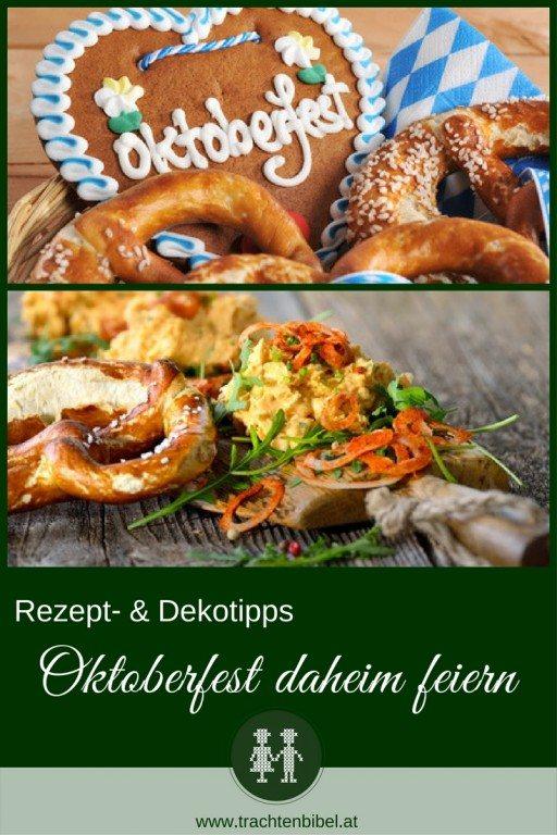 Rezept & Dekotipps Für Das Oktoberfest Daheim