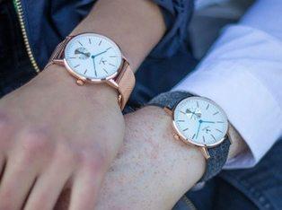 Makelos Uhr Silber Und Roségold