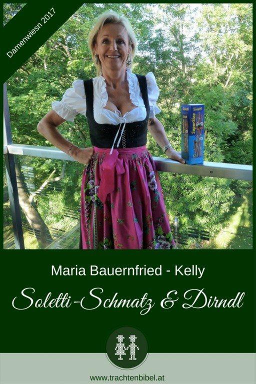 Soletti-Schmatz und Dirndl: Warum Kelly Partner der Wiener Damenwiesn ist & was ihr erstes Dirndl war, erzählt Maria Bauernfried, Marketingdirektorin von Kelly