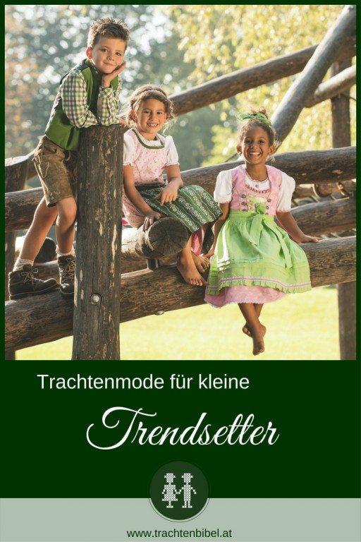 Für kleine Trendsetter gibt es die perfekte Kindertrachtenmode. Ob Kinderdirndl, Lederhosen oder ein fesches Hemd - so sind die Kleinen perfekt gekleidet.
