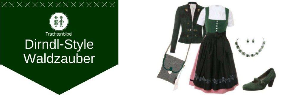 Waldzauber Dirndl Outfit