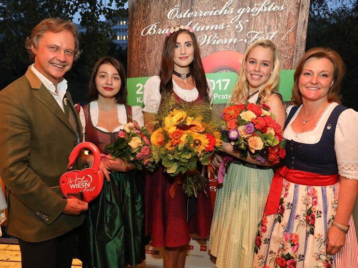 GF Christian Feldhofer - Vanessa Pfaller 3. Platz - Marina Augsten 1. Platz - Laura Tschiltsch 2. Platz - GF Claudia Wiesner