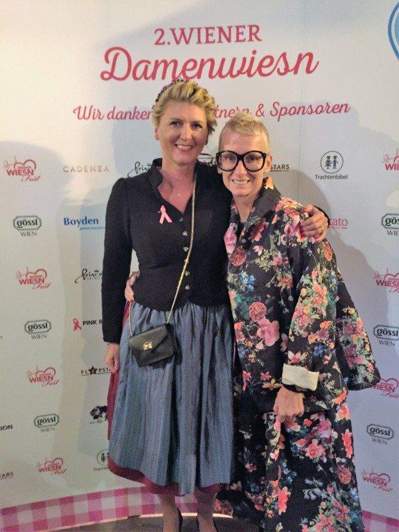 Kerstin Roubin & Nina Plattner auf der Damenwiesn