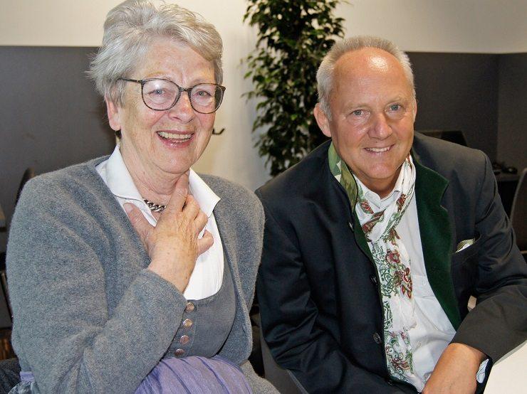 Dr. Gesine Tostmann & Wilfried Antlinger (Reed Messe)