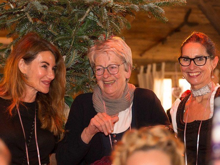 Auch Gexi Tostmann hatte Spaß mit Teje Waidmann - Bild © Dorelies Hofer