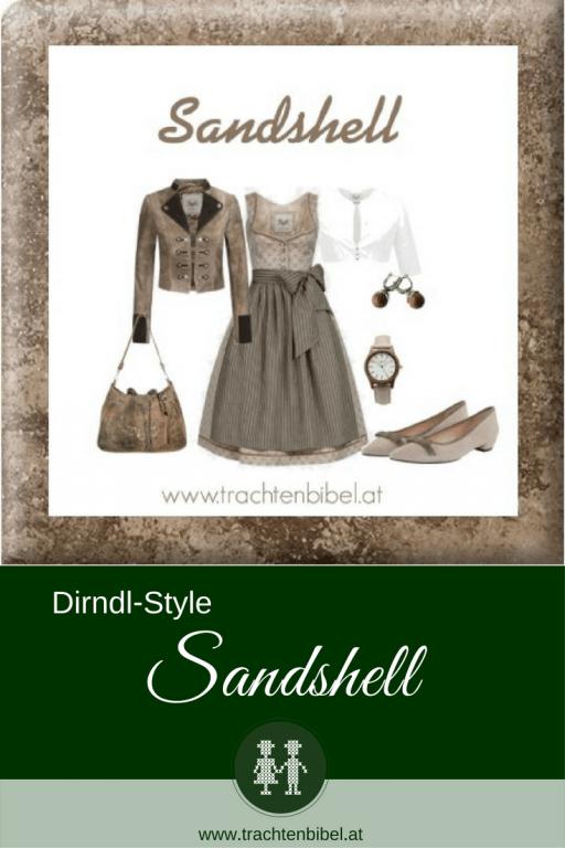 Ein traumhaftes Dirndl Outfit in Sand- und Erdtönen zum Nachshoppen