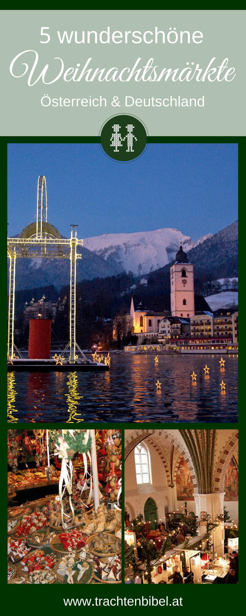 Es muss nicht der Big Apple sein! Für Last Minute Weihnachtsgeschenke eignen sich diese 5 wunderschönen Weihnachtsmärkte in Deutschland und Österreich perfekt!