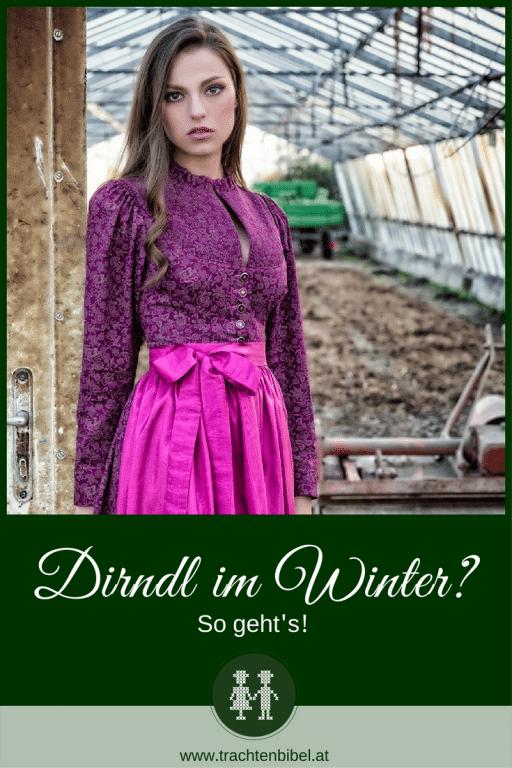 Dirndl im Winter? Puh, ist das kalt – oder? Nein! Nicht, wenn es mit den entsprechenden Accessoires kombiniert wird und wie geschaffen für die winterlichen Temperaturen ist. Sie können es sich noch nicht so richtig vorstellen? Dann lassen Sie doch bitte von traumhaften Beerentönen und kuscheligen Tüchern und Schals verzaubern! Denn ist es nicht schön, wenn eines zum anderen passt?