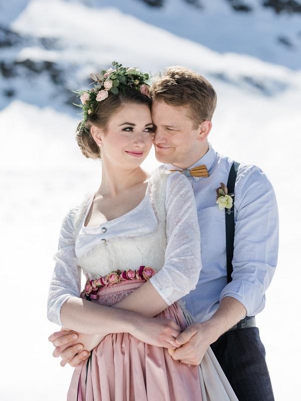 Braut Und Bräutigam Schönwieshütte