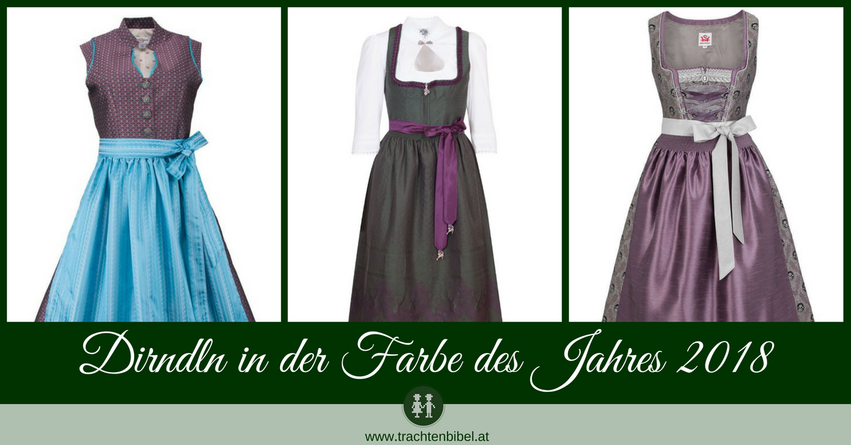 dirndl in der farbe des jahres 2018 trachtenbibel. Black Bedroom Furniture Sets. Home Design Ideas