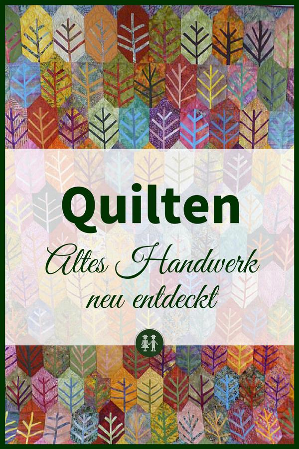 Ein Quilt ist mehr als eine Patchworkdecke! Als Tagesdecke fast zu schade! Beim Quilten werden Geschichten erzählt und zu wahren Kunstwerken verarbeitet. Ein altes Handwerk neu entdeckt.