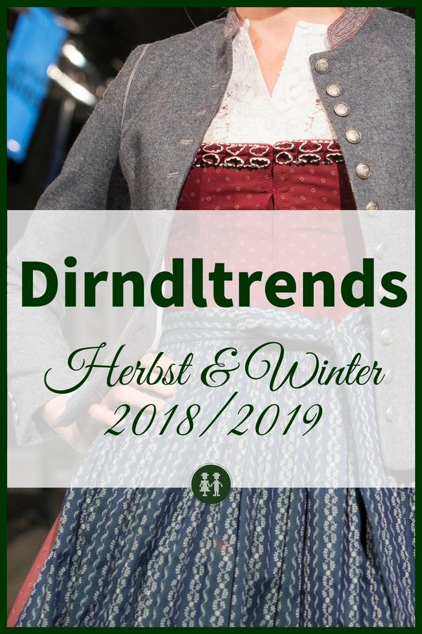 Entdecke hier die Trends fürs Dirndl im Herbst und Winter 2018 und 2019. #dirndltipp