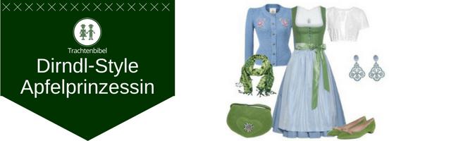 Apfelprinzessin Dirndl Outfit