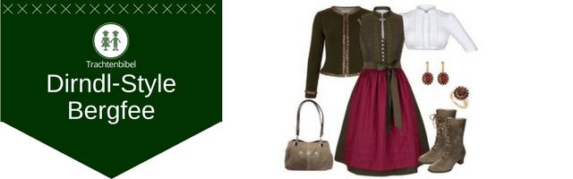 Bergfee Dirndl Outfit