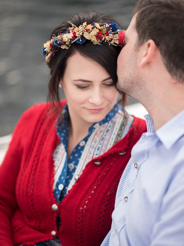 Verlobung Traunsee Braut