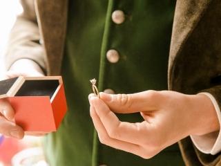Verlobungsring - Verlobung im Jagdschloss