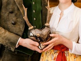 Brautpaar - Verlobung im Jagdschloss