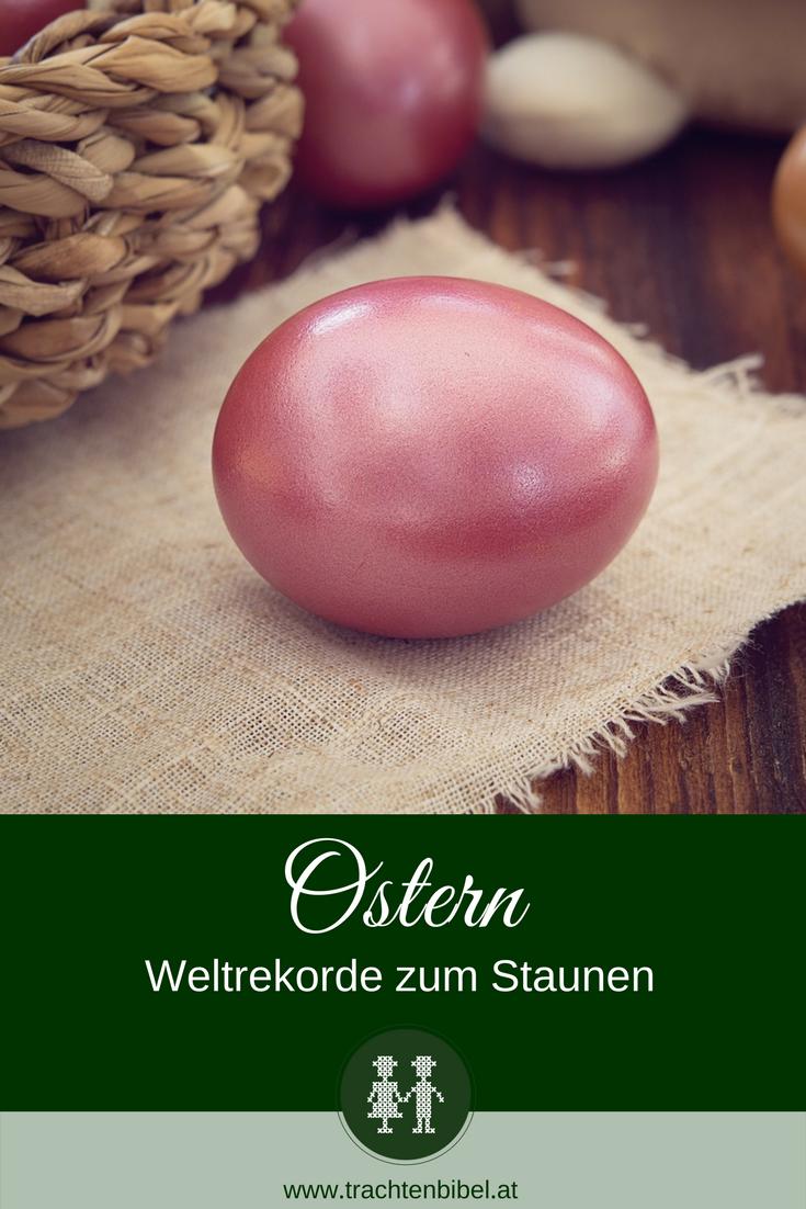gefärbtes Osterei Artikel Weltrekorde Rekorde Ostern