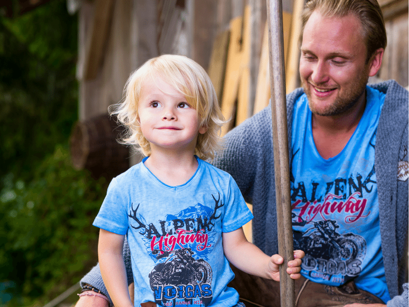 Shirt Vater Sohn von hangOwear