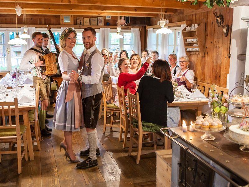Hochzeit in Tracht Jagawirt