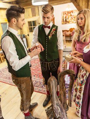 Ringwechsel gleichgeschlechtliche Hochzeit