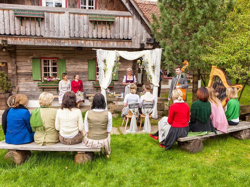 freie Trauung beim Jagawirt Weststeiermark