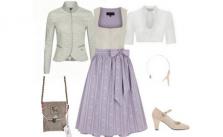 Dirndl Kinga Mathe Style Lilac