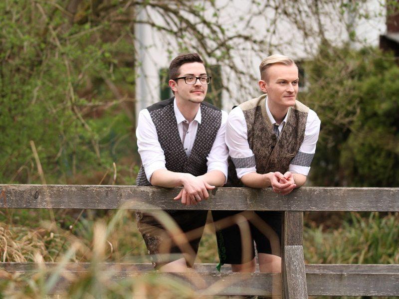 Tobias & Michael Trachtenhochzeit