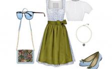 Style Summer Dirndl kombiniert