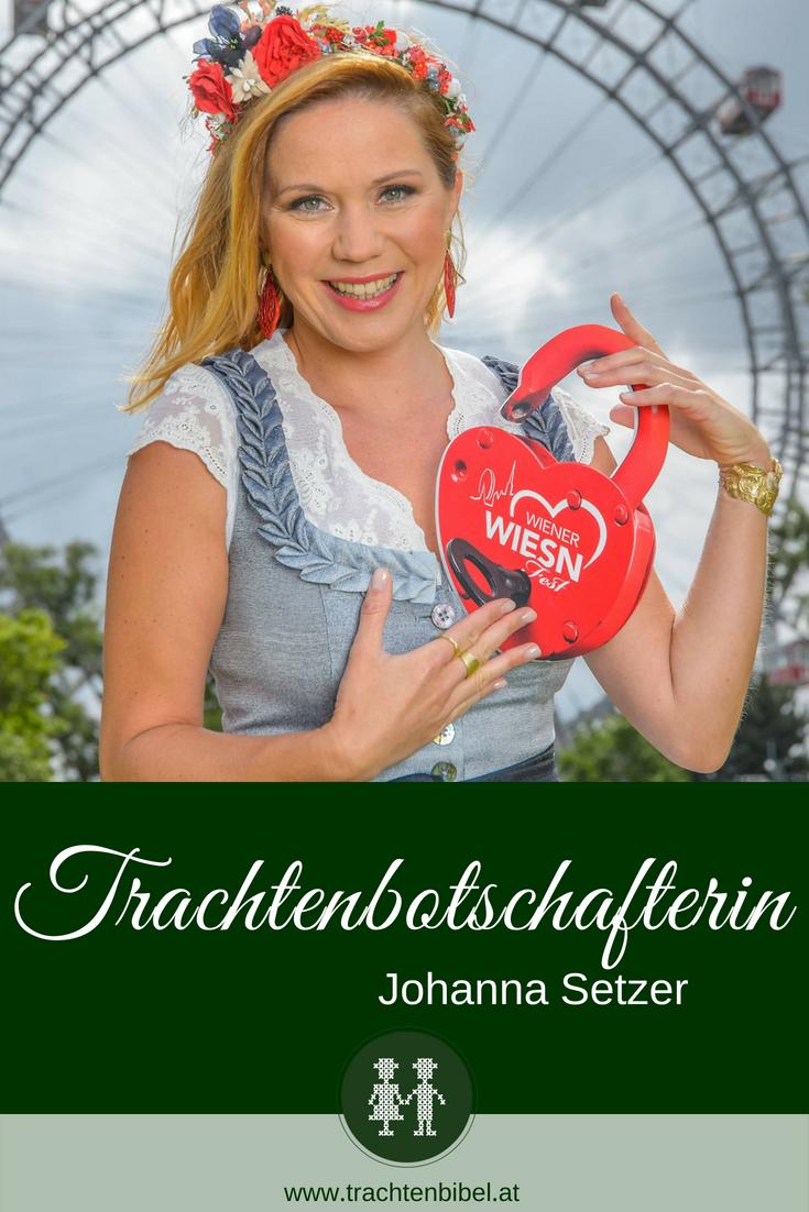 Trachtenbotschafterin 2018 Johanna Setzer