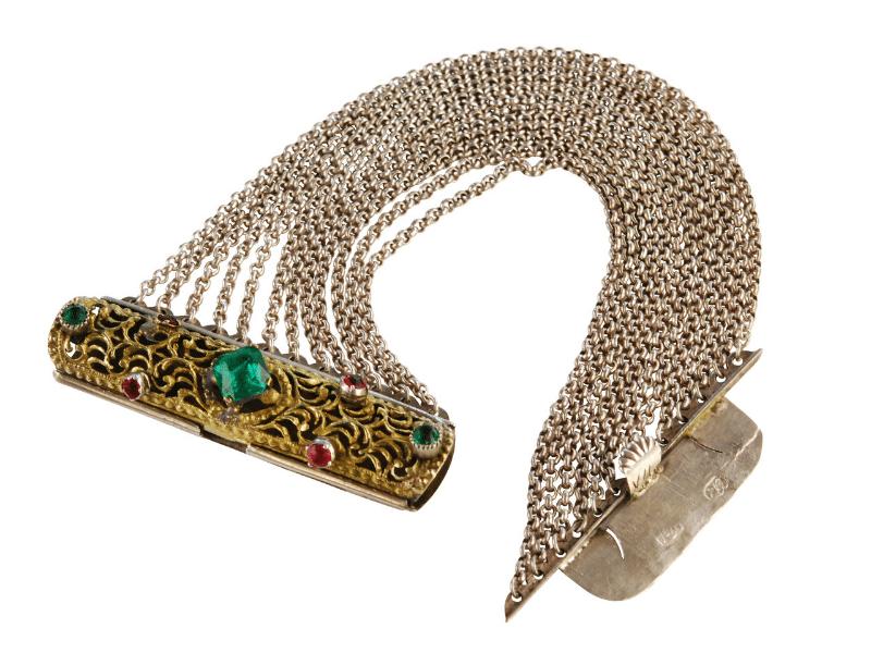 Trachtenschmuck Halsbandaffaire Historische Kropfkette