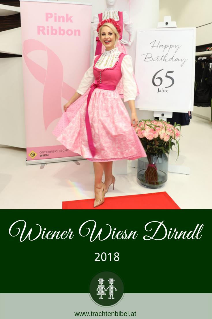 Wiener Wiesn Dirndl 2018 in Pink