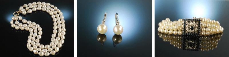 Halsbandaffaire Schmuck Aus Perlen