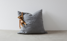 Kissenbezug aus Tuchloden von Mondschein