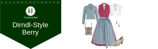 Berry Dirndl Outfit