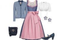 Dirndl Style Rosa Traum