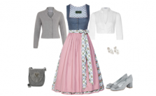 Dirndl Style Traditional Twist